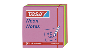 tesa® Haftnotiz Neon Notes